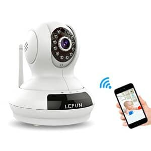 $30 off LeFun™ Wireless IP Surveillance Camera 720P Night Vision Baby Video Monitor with Two-Way Audio Security System $49.99 AC + FS @ Amazon