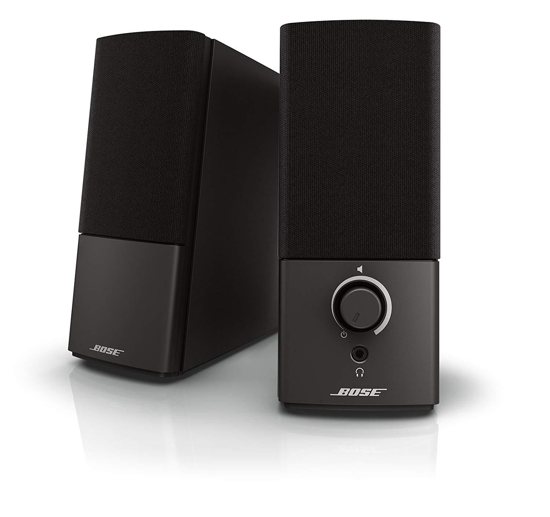 Bose Companion 2 Series III Multimedia Speaker System (2-Piece) - Black $81.7