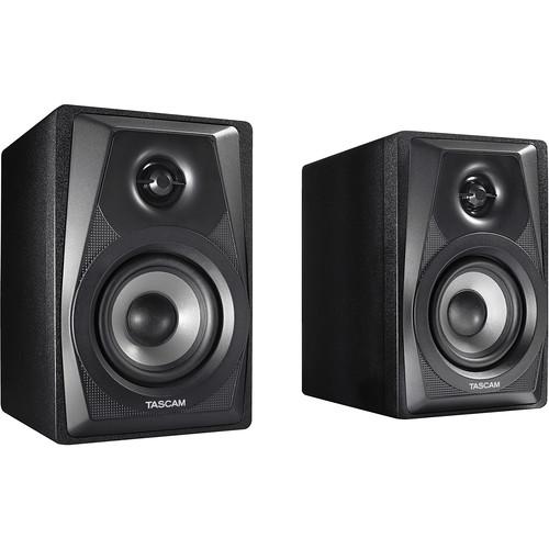 Tascam VL-S3 Powered Studio Monitors. Half Price $49.99