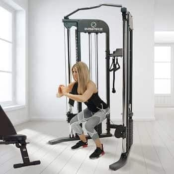Inspire Fitness FTX Functional Trainer with Bench & 1-Year Inspire Fitness App Subscription Included - $1099