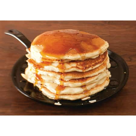 Lodge Pre-Seasoned 10.5 Inch Cast Iron Griddle with Easy-Grip Handle $14.88 + ship