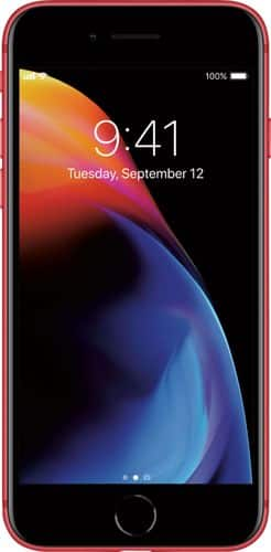 Apple - iPhone 8 64GB - (PRODUCT)RED™ Special Edition (AT&T) $21.66/mo