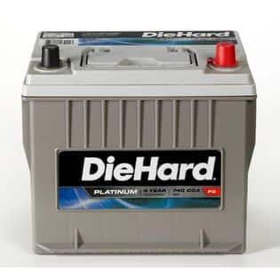 SEARS - 25% OFF all Die Hard Automotive Batteries + Additional $5 off + $10 in SYWR points + Free in-store pickup