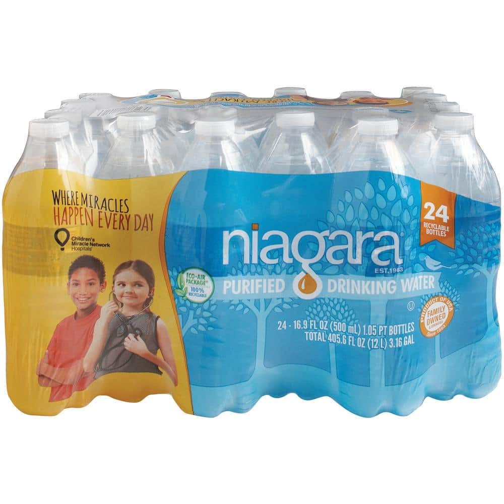 Niagara 16.9 fl. oz. Purified Drinking Water (24-Pack) $1.98