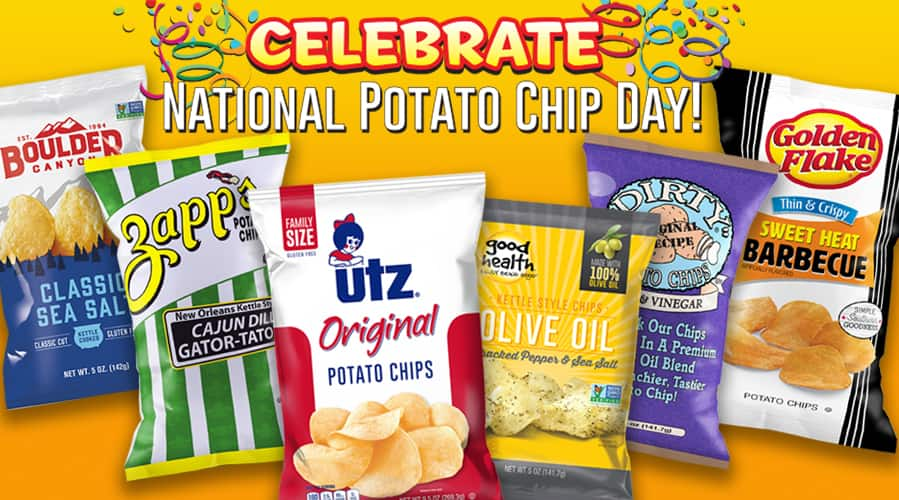99b362afbb054e Utz National Chip Day Event - Save 50% - 1 Day Only - 3 14 ...