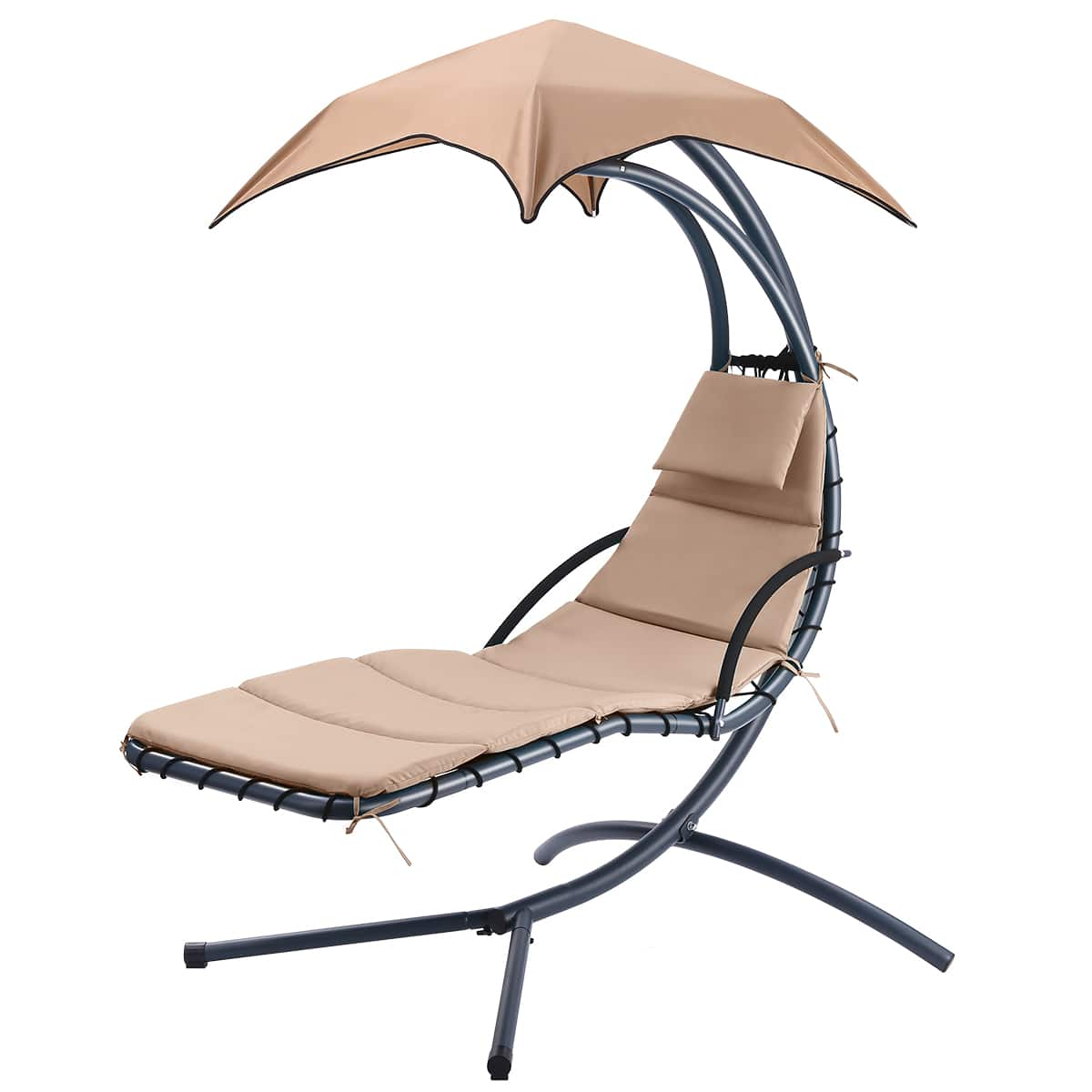 Rocking Sunshade Canopy Lounge Chair $115
