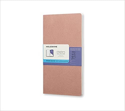 Moleskine Chapters Journal (4.5 x 8.25) Soft Cover $3.55