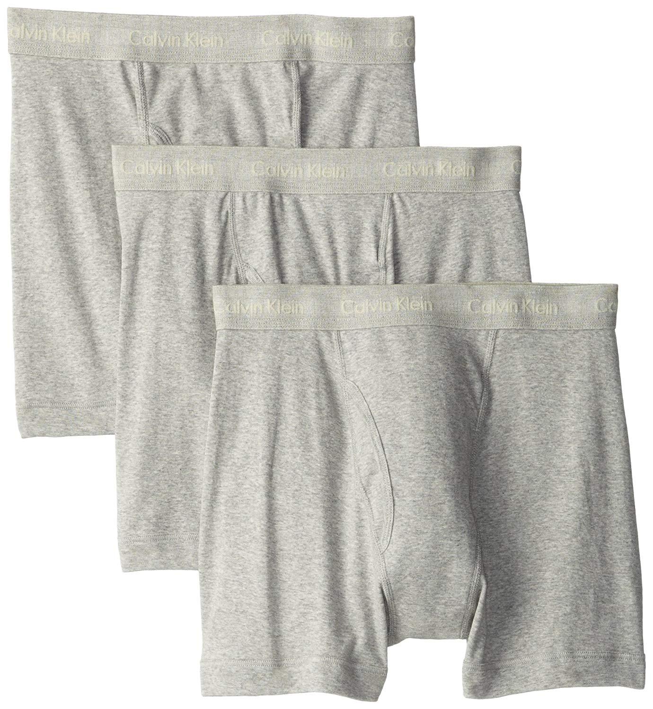 38037c0fb085 3-Pack Calvin Klein Men's Cotton Classics Boxer Briefs $13.49 -  Slickdeals.net