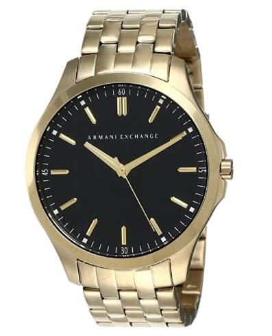 Armani Exchange Men's Classic Stainless Steel Watch  with 57% OFF $77.68