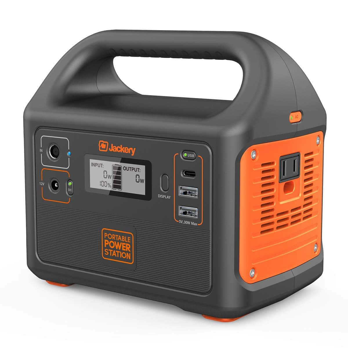 Jackery Portable Power Station Explorer 160 - Back Up Power Supply, A/C Outlet, USB C and USB and D/C for $109.99