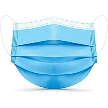 Disposable Face Masks - 50 PCS - 3-Ply Breathable & Comfortable Filter Safety Mask with 27% OFF for $7.99