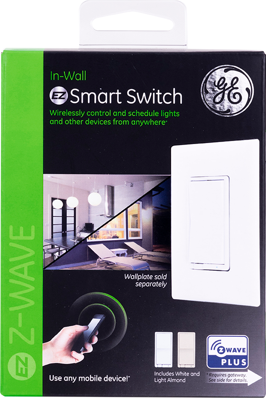 $10 OFF Lowe's.com GE Z-Wave Plus On/Off Switch $29.98 14291