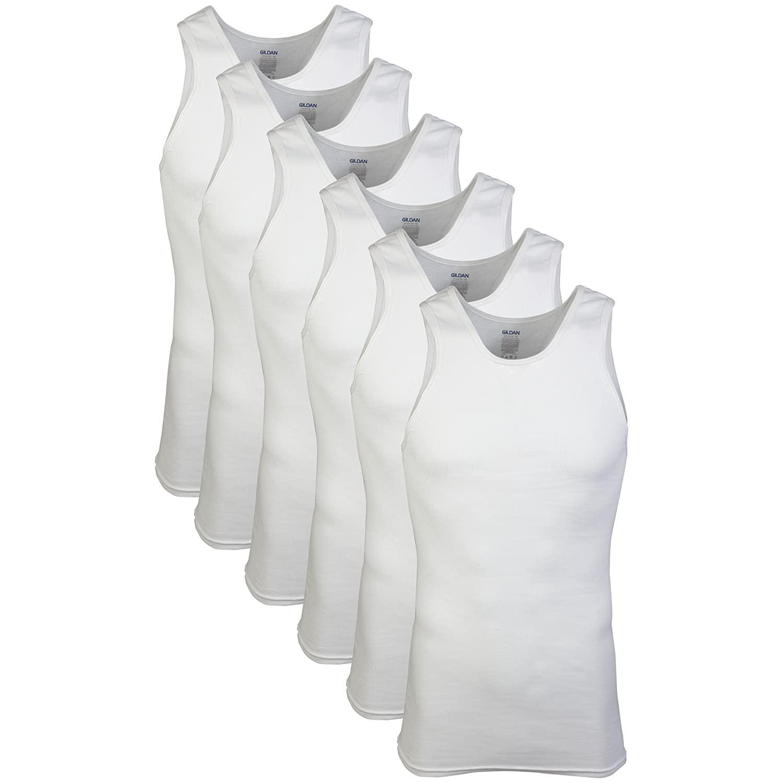 Gildan Men's A-Shirts 6 pack $9.00 on Amazon FS Prime