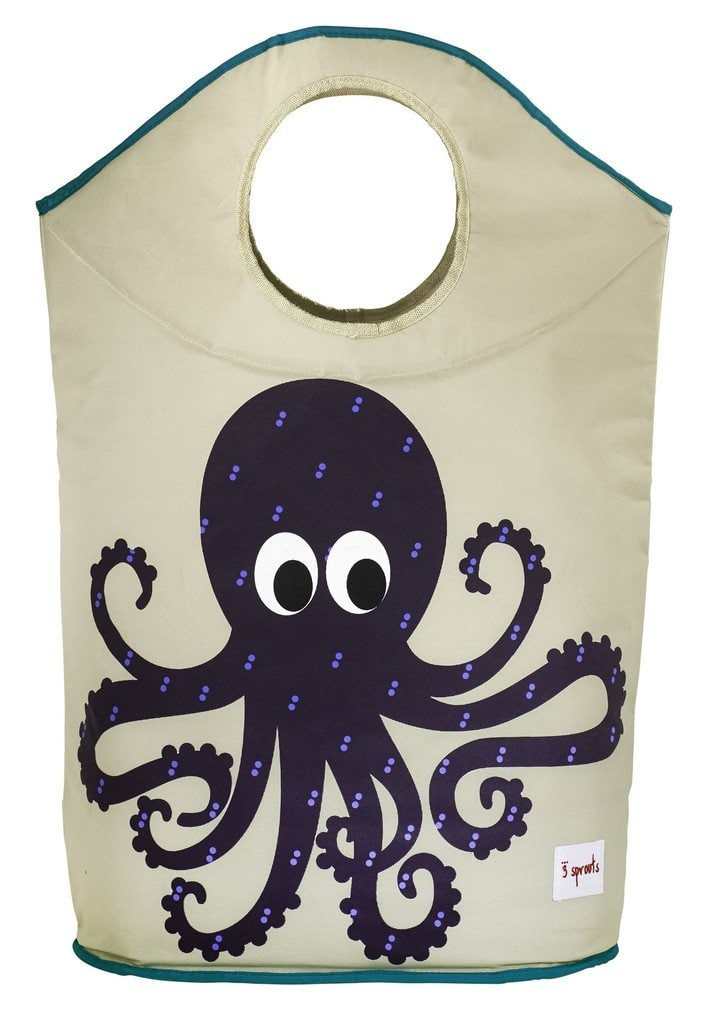 Laundry Hamper by 3 Sprouts Octopus - Purple, $10.56 (Reg. $25)