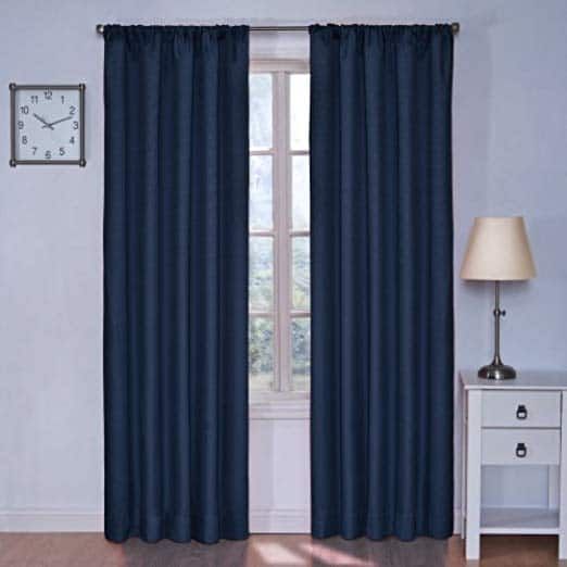 Add-on Item: Eclipse Kids Kendall Blackout Thermal Curtain Panel Denim, $6 (Reg. Price $25) $5.99
