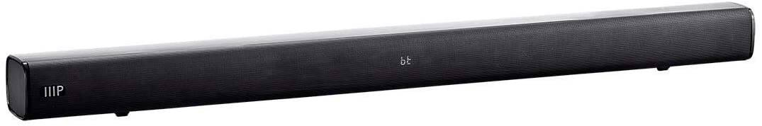 """36"""" Monoprice SB-100 2.1-Channel Bluetooth Soundbar with Built-In Subwoofer for $40 + FS"""