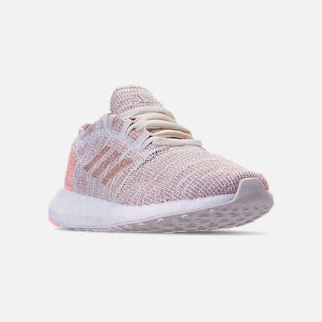 e287637b288dec Adidas Girls  Pureboost Go Running Shoes  25 - Slickdeals.net
