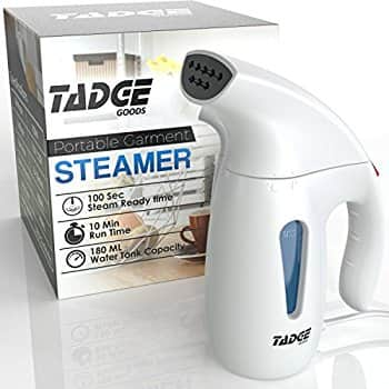 Travel Steamer For Clothes Wrinkle Remover U2013 180ml Portable Hand Held Vapor  Iron Garment Steamer $20.39