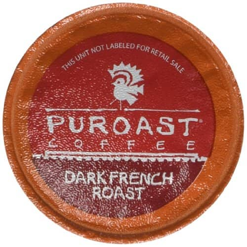 Puroast Coffee Dark French Roast K-Cup 30 ct. as low as $8.11 w 15% Subscribe & Save Discount @ Amazon