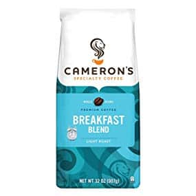 Cameron's Coffee Roasted Whole Bean Coffee, Breakfast Blend, 32 Ounce - $9.76 AC and 15% Subscribe & Save Discount