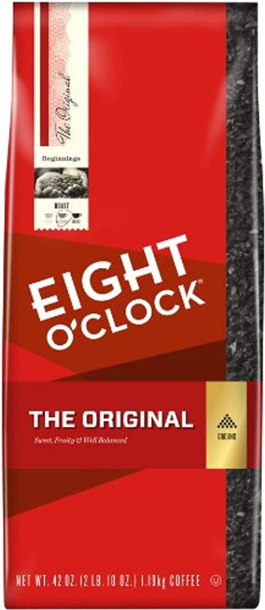 Eight O'Clock Coffee Deals @ Amazon - 36 oz. Original $8.87, 36 oz. Ground $8.44, 42 oz. Ground $9.85 After 15% Subscribe & Save Discount