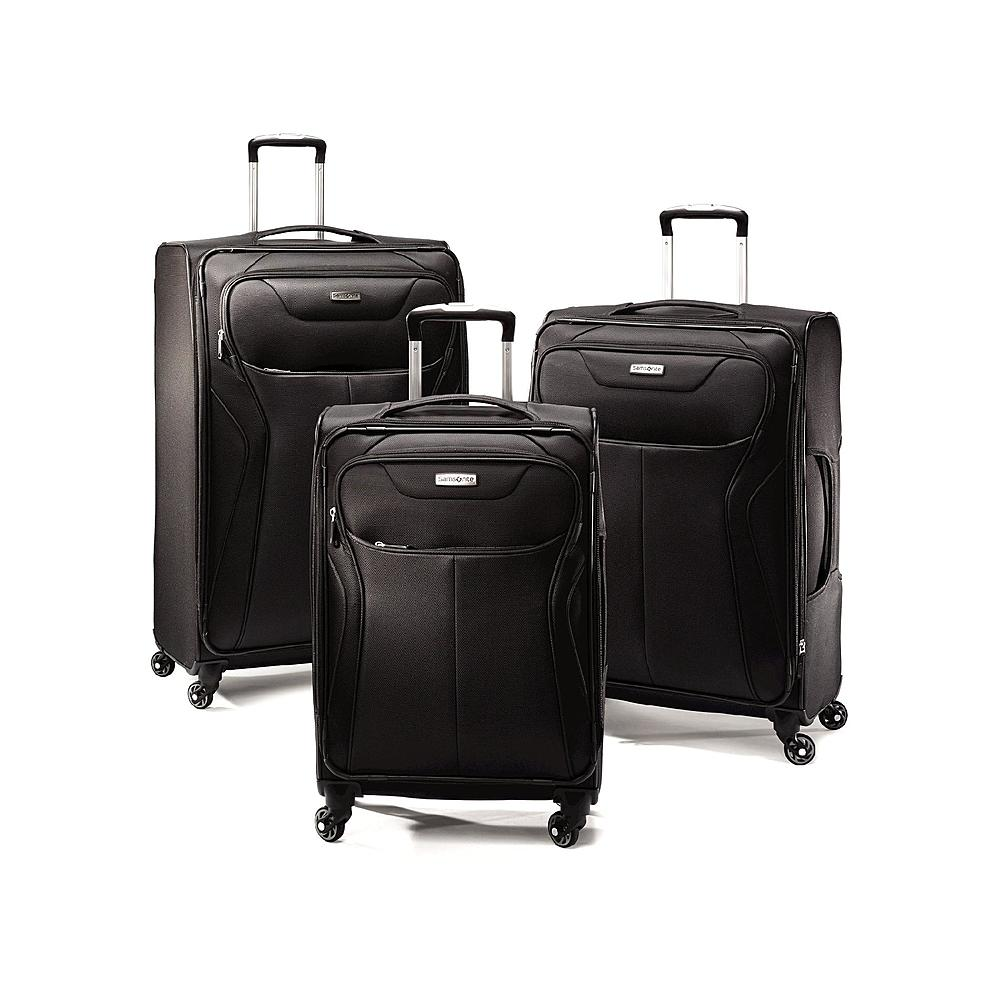 "29"" & 21"" Samsonite Launch II Spinner Upright Luggage (Black) $112 + Free Store Pickup"