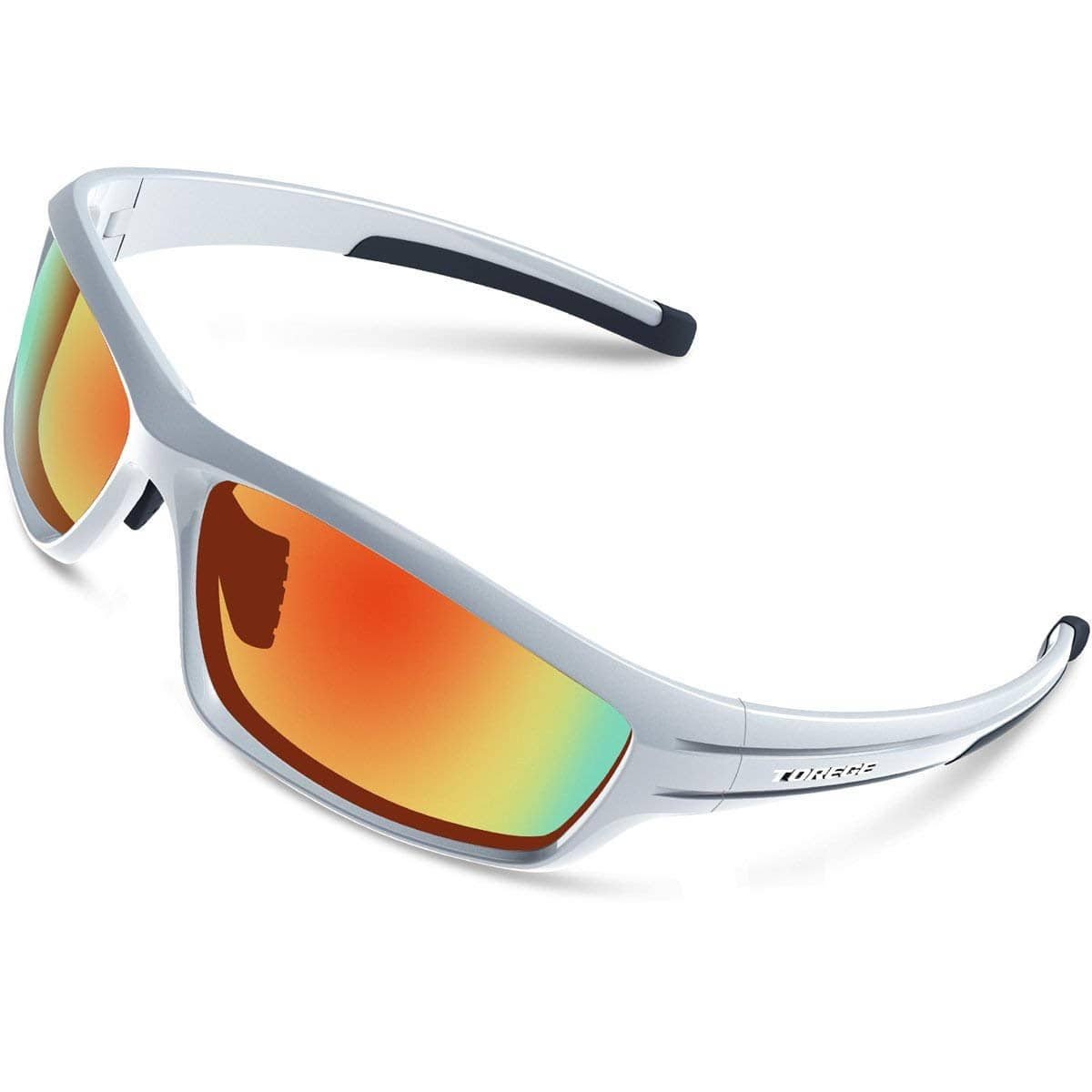 5e88270474f TOREGE Polarized Sports Sunglasses for Men Women Cycling Running Driving  Fishing Golf Baseball Unbreakable Frame  8.18