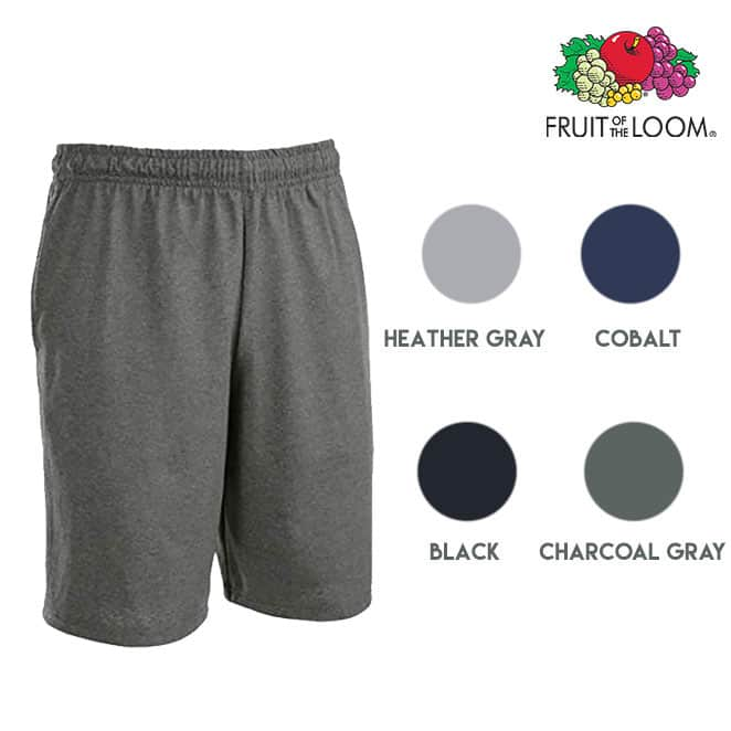 6 Pairs of Moisture Wicking Men's Jersey Shorts with Pockets $21.99