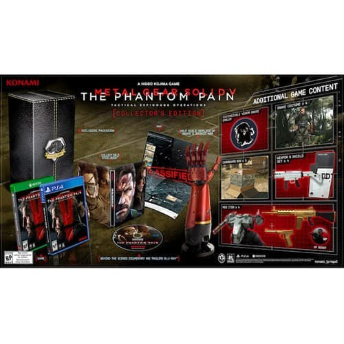 MGS V Phantom Pain Collectors Edition 79.99 w/GCU @ Best Buy