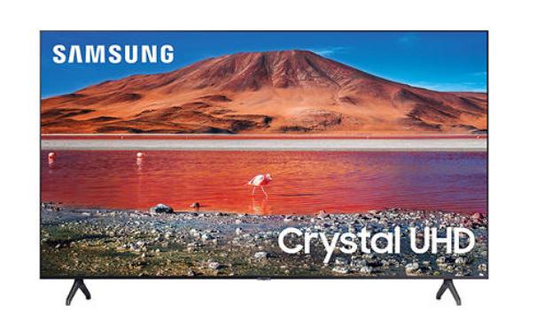 "Samsung 82"" Class TU700D-Series Crystal Ultra HD 4K Smart TV UN82TU700DFXZA (2020 Model) $1297.99"