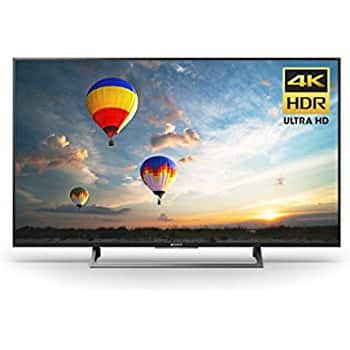 """$480 Sony KD43X720E 43"""" 4K TOP rated TV for use as a computer monitor by rtings.com"""