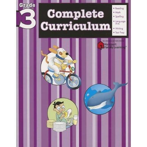 Complete Curriculum: Grade 3 (Flash Kids Harcourt Family Learning) $14.35