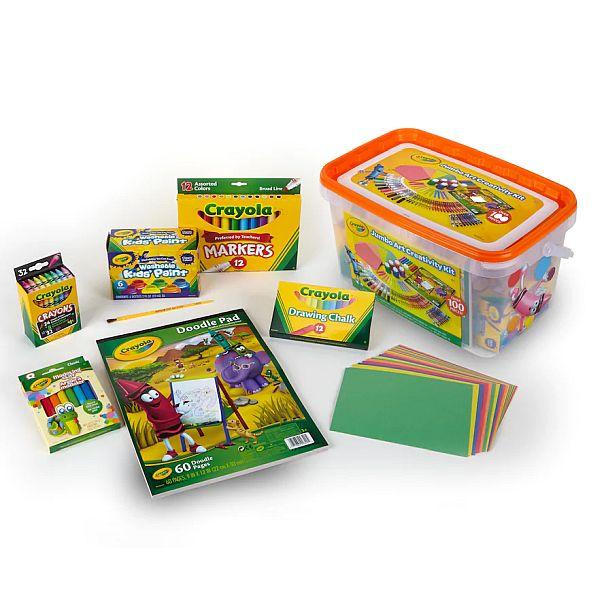 Crayola Jumbo Art Creativity Kit - $11.99