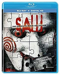 Saw: The Complete Movie Collection Blu-ray - $9.99 at Amazon