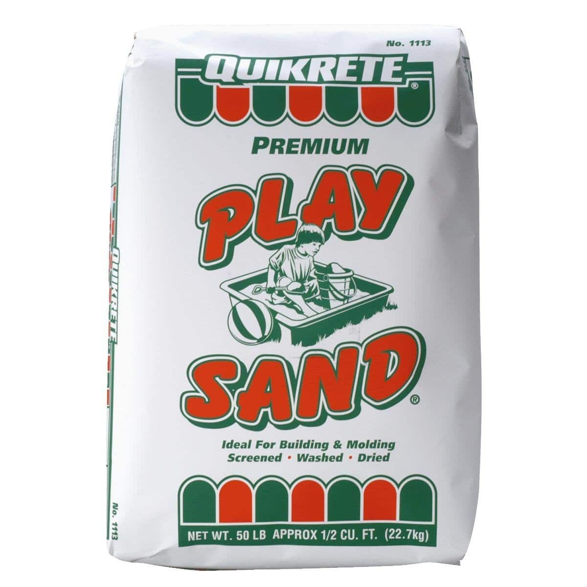QUIKRETE 50-lbs Play Sand - $2.50 at Lowes and Home Depot