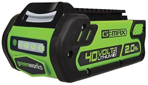 Greenworks 40V 2.0 AH Lithium Ion Battery 29462 for $48.01 + Free Shipping