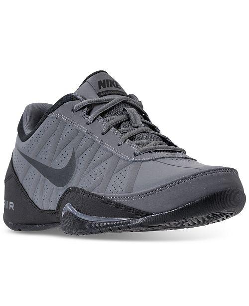 Nike Men's Air Ring Leader Low Basketball Sneakers for $48.75
