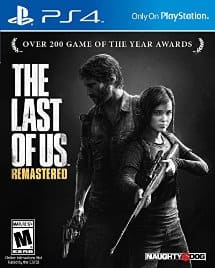 The Last of Us Remastered for PS4 $12.95 shipped