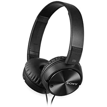 Sony MDRZX110NC Noise Cancelling Headphones, Black $28 + FS