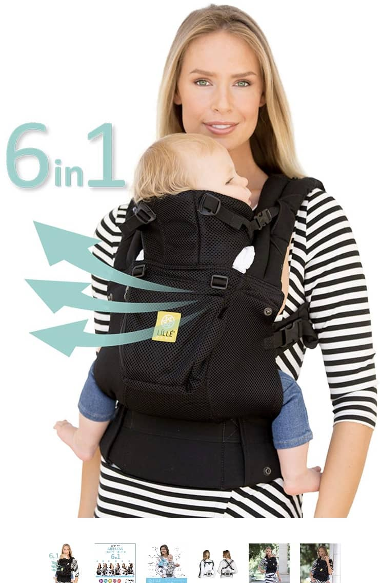 c4ce4a17e18 LILLEbaby The Complete Airflow Six-position baby  amp amp  child carrier  63