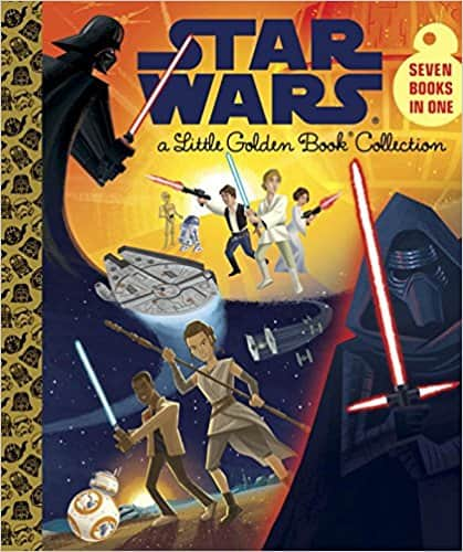 Star Wars Little Golden Book Collection at Amazon- 7 movies in one book- $10.75 + Prime shipping