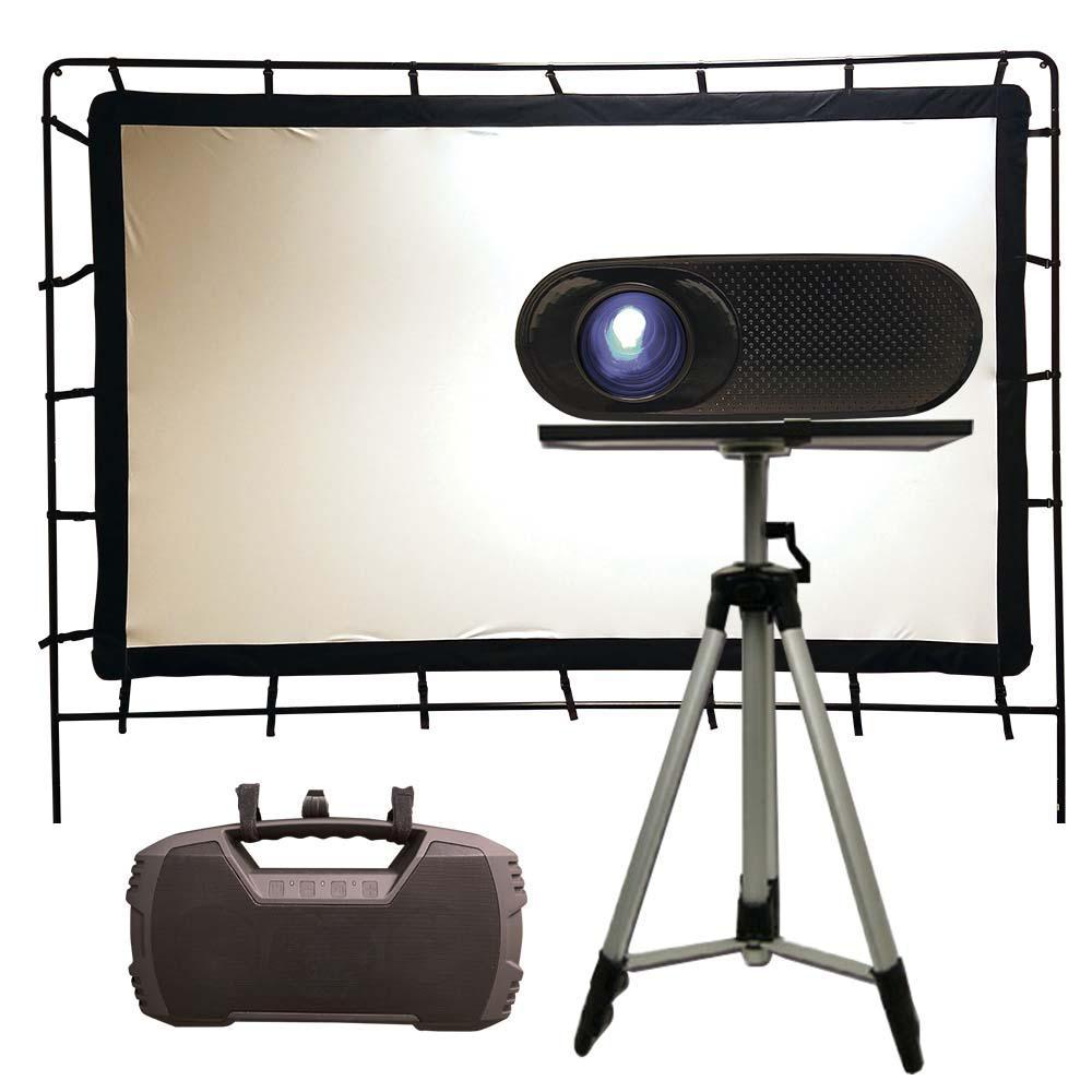 Total HomeFX Outdoor Standard Projection Theatre Kit - Slickdeals.net