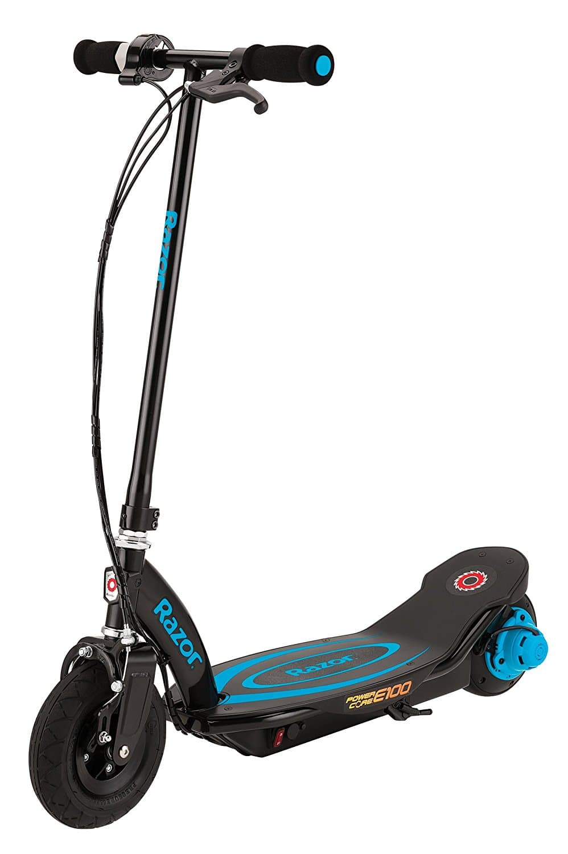 Razor Power Core E100 Electric Scooter - Blue - $80.91
