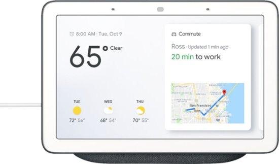 Google Home Hub (White, Charcoal) for $57.99 at Rakuten + FS $58