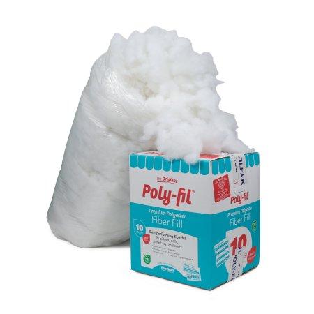 Fairfield 10-Pound Poly-Fil Premium Polyester Fiber, White $17.49