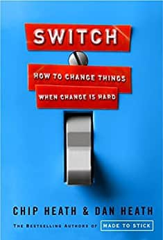 """$1.99 Kindle eBook (4.7 Stars): """"Switch: How to Change Things When Change Is Hard"""" by Chip Heath"""