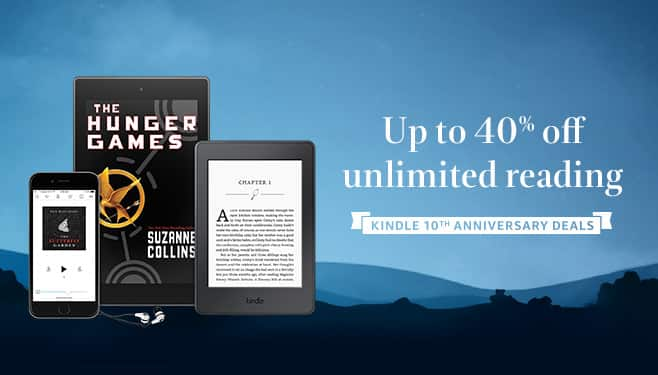 Kindle Unlimited Subscription 12 Months 80 32 Or 24 Months