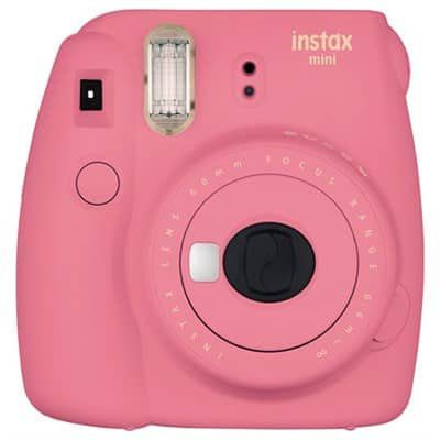 Fujifilm Instax Mini 9 Instant Camera (Pink, Open Box) $36 + Free Shipping @ BuyDig