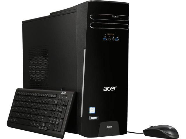 Acer TC-780 Desktop Computer (Intel Quad Core i5-7400, 8GB DDR4, 256GB SSD, Wireless-AC, Windows 10) $479.99 + Free Shipping @ Newegg
