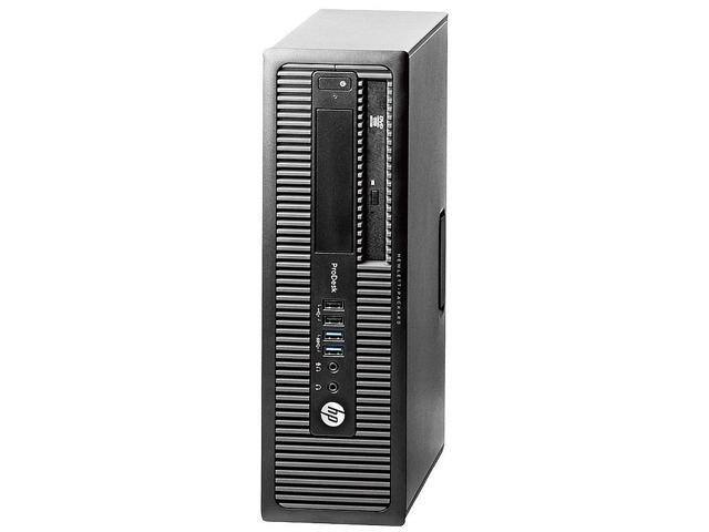 (Refurbished) HP ProDesk 600 G1 SFF Desktop PC (Quad Core i5-4590, 8GB, 500GB, Win 10 Pro) $164.99 + Free Shipping @ Newegg